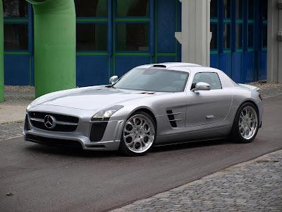 2010 FAB Design Mercedes SLS AMG