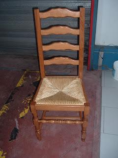 Ideal sieges modification de l 39 assise d 39 une chaise - Assise de chaise en paille ...