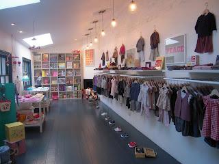 London boutiques