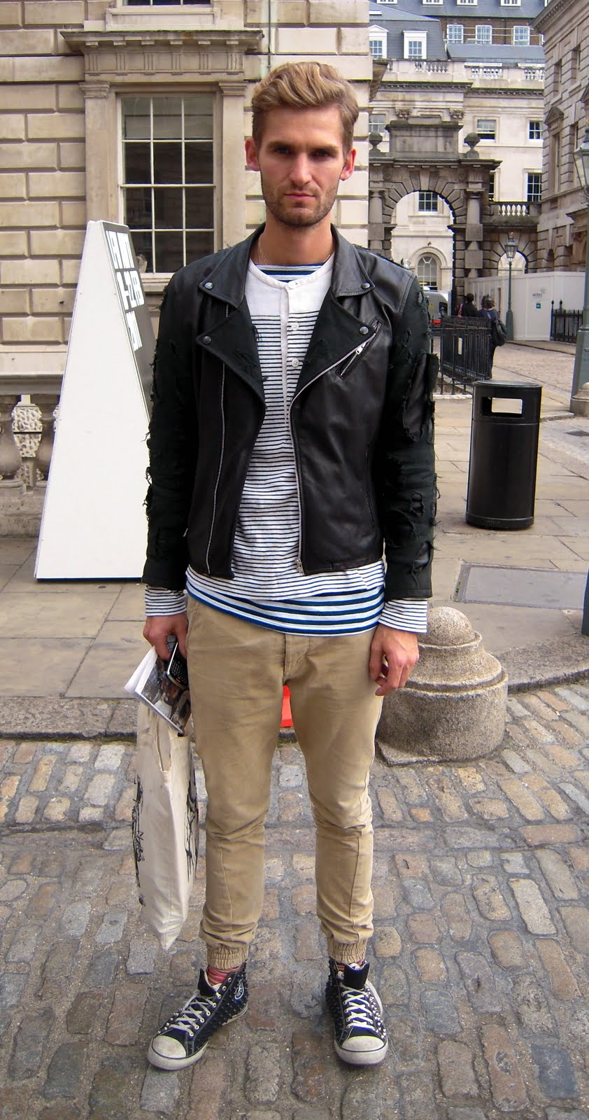 Street Style At Somerset House London Fashion Week Ss11