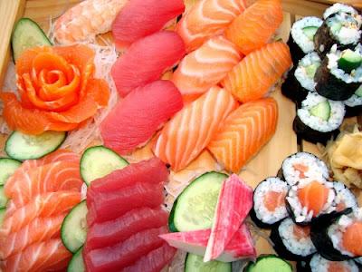 Niguiris y sushi