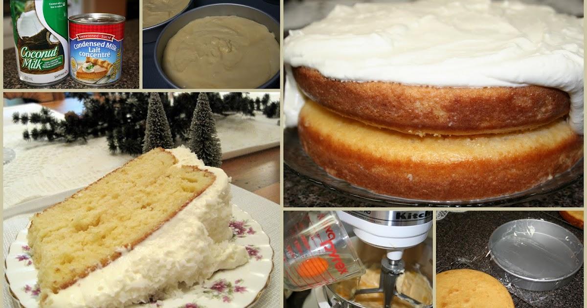 Mennonite Girls Can Cook Coconut Milk Cake