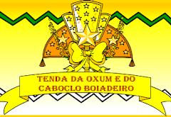 Logo da Tenda da Oxum