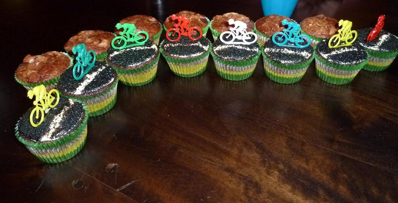 Katrina Cooks Peloton Cupcakes