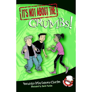Cover of It's Not About the Crumbs by Veronika Charles and David Parkins.