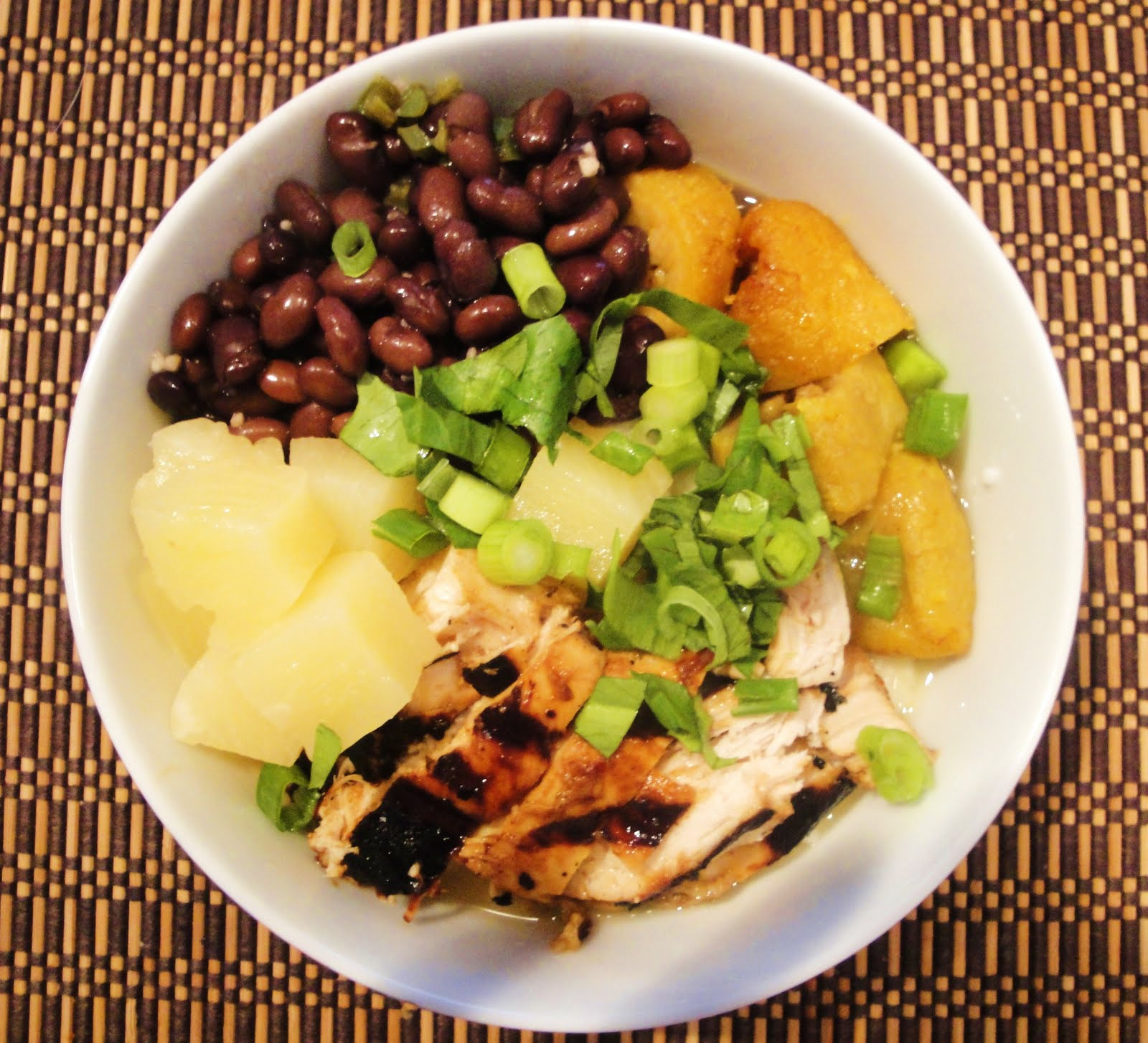 pineapple salsa pineapple fruit bowl jerk chicken jerk chicken jerk ...