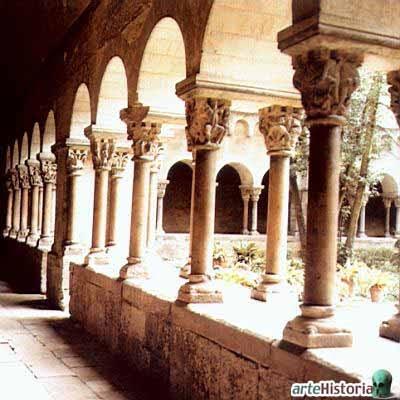 M s clases de arte claustro del monasterio de sant cugat - Mas duran sant quirze del valles ...