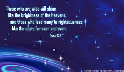 Bible Verses Daniel12_3