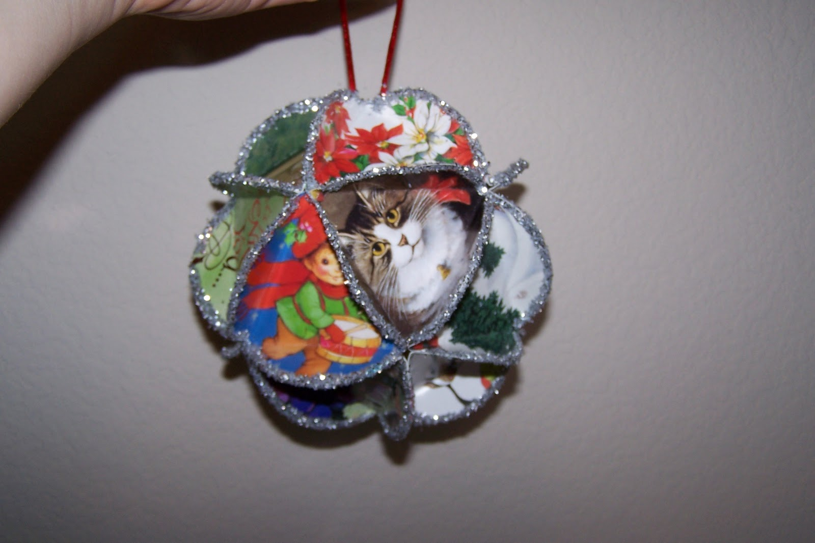 The princess and tot christmas ornament craft