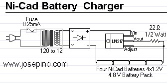 Ac Mains Voltage Indicator further Mc34063 Ile 50 Volt 120ma Dcdc Konvertor together with Simple Transistor Capacitor Circuit Question additionally 12v 6V Battery Charger With Auto Cut Off further Ni Cad Battery Charger. on simple battery charger circuit
