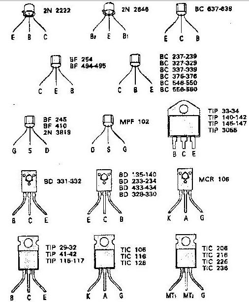 electronica  como probar transistores