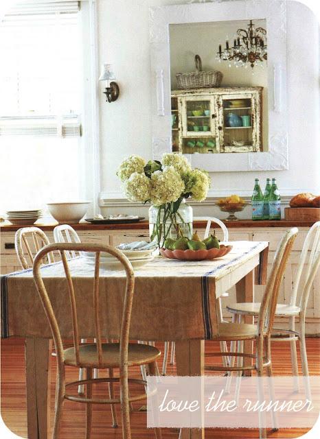 Cottage Design Magazine Style Decorating Via