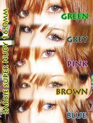 softlens BARBIE EYE 16mm super nudy (JAPAN CONTACT LENS) + FREE LENSCASE