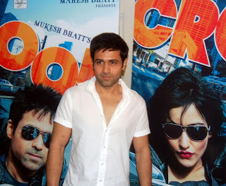 Emraan Hashmi for Press Conference Of Crook In Mumbai