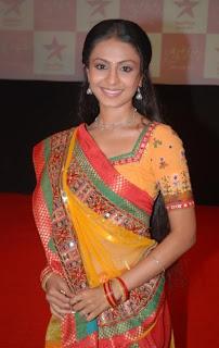 Protagonist Manasi Parekh at the premier of Star Plus Gulaal 1