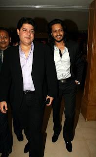 Sajid Khan and Ritesh Deshmukh
