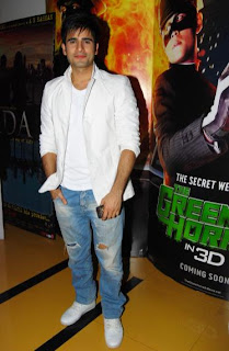 Karan Tacker at the premier of horror film Kaalo