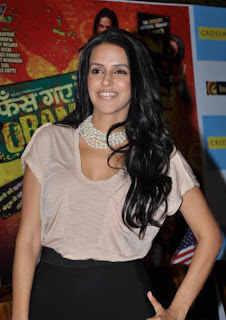 Neha Dhupia at launch of dvd of Phas Gaye Re Obama