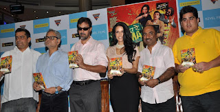 Director Subhash Kapoor, Sanjay Mishra , Rajat Kapoor, Neha Dhupia,  producer Ashok Pandey, Uday Suneja from Eagle Home Entertainment1