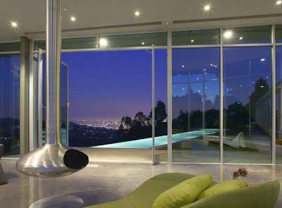 Luxury homes, Luxury house,The Skyline Residence by Belzberg Architects