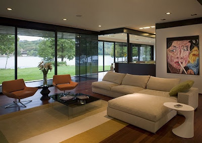 Luxury Lake House Design on Lake Austin