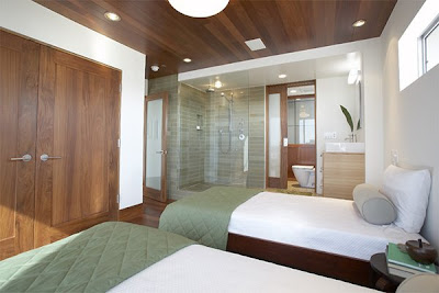 Modern Architecture Design, Ocean View Home in CA
