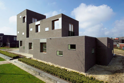 Brick House Design in Netherlands