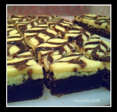 Cheese Cream Brownies