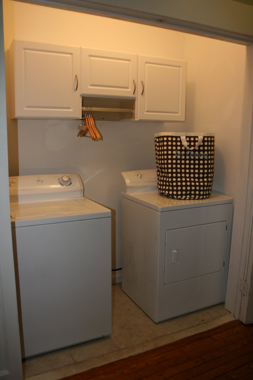 Organize Washer And Dryer Closet