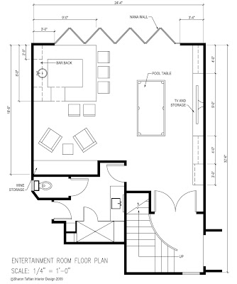 Design project entertainment room in the oaks hobnail for Floor plans for entertaining