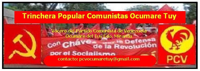 Trinchera Popular Comunistas Ocumare Tuy