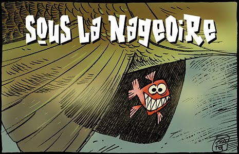 SOUS LA NAGEOIRE by RO'F.