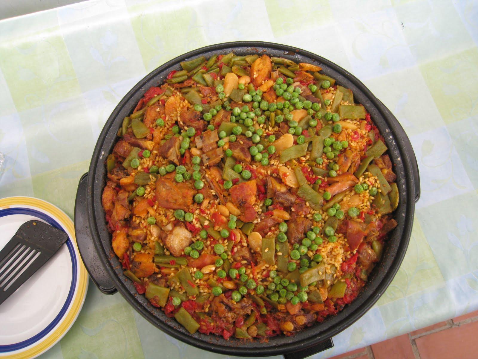 Familia mahecha gomez como hacer paella valenciana verduras y carne o mixta - Como cocinar paella ...