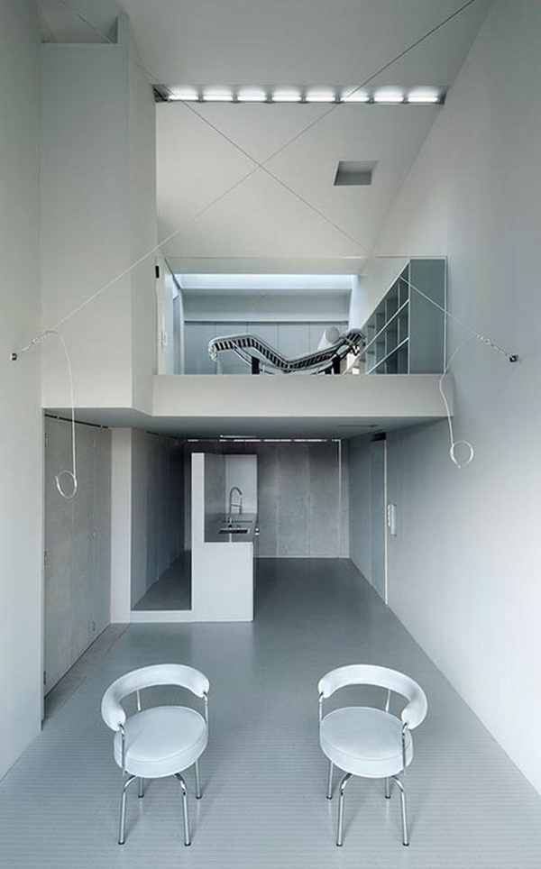 modern prefab house containers interior architecture by