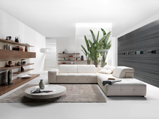 Living room modern high tech sofa furniture design by natuzzi homecod - Furniture living room design ...