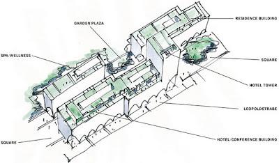 Luxury Hotel Architecture Design Minimalist Interior Decor Munich
