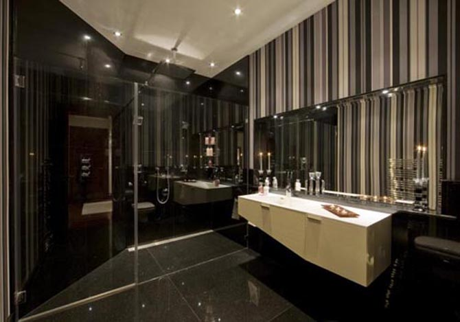 Best modern luxury apartment design london hyde park place for Luxury bathroom designs