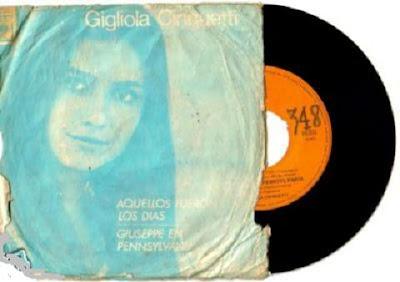 GIGLIOLA CINQUETTI - simple - 1966