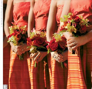 Indian Bridals Wedding Planning And Ideas Red Orange