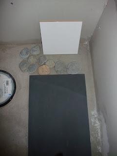 maling som ligner betong