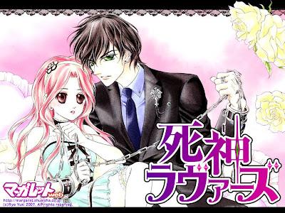 Animes Shoujos Shinigami+Lovers