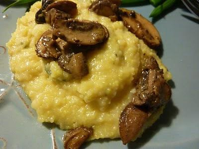 Creamy White Polenta With Mushrooms And Mascarpone Recipes ...