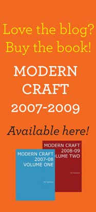 MODERN CRAFT: NOW A BOOK!