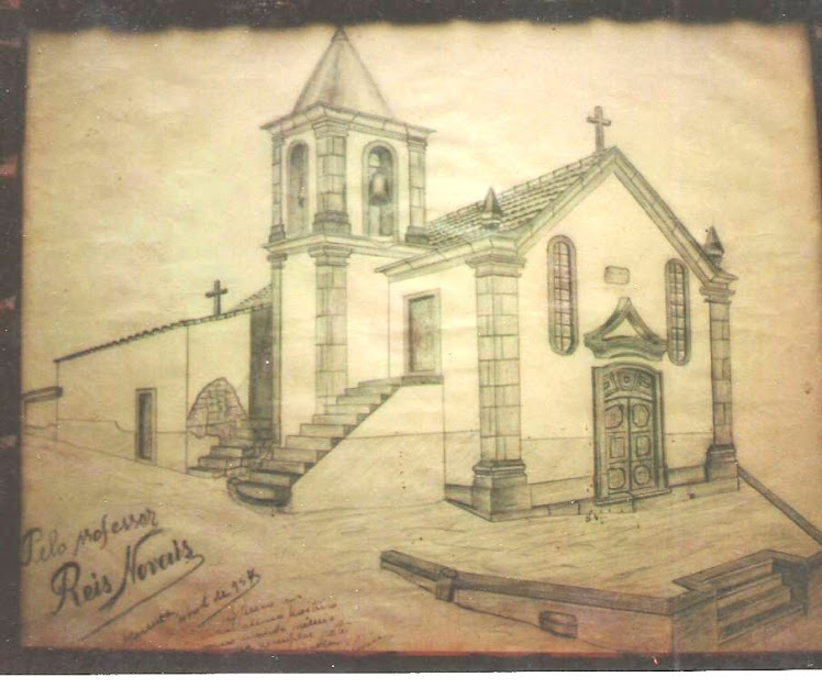 Desenho da década de 50 do séc. XX