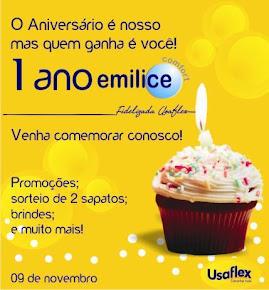 1 ano de Emilice Comfort