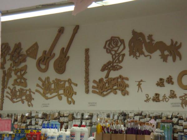 Para parede (pintura a escolher) - preço sob consulta