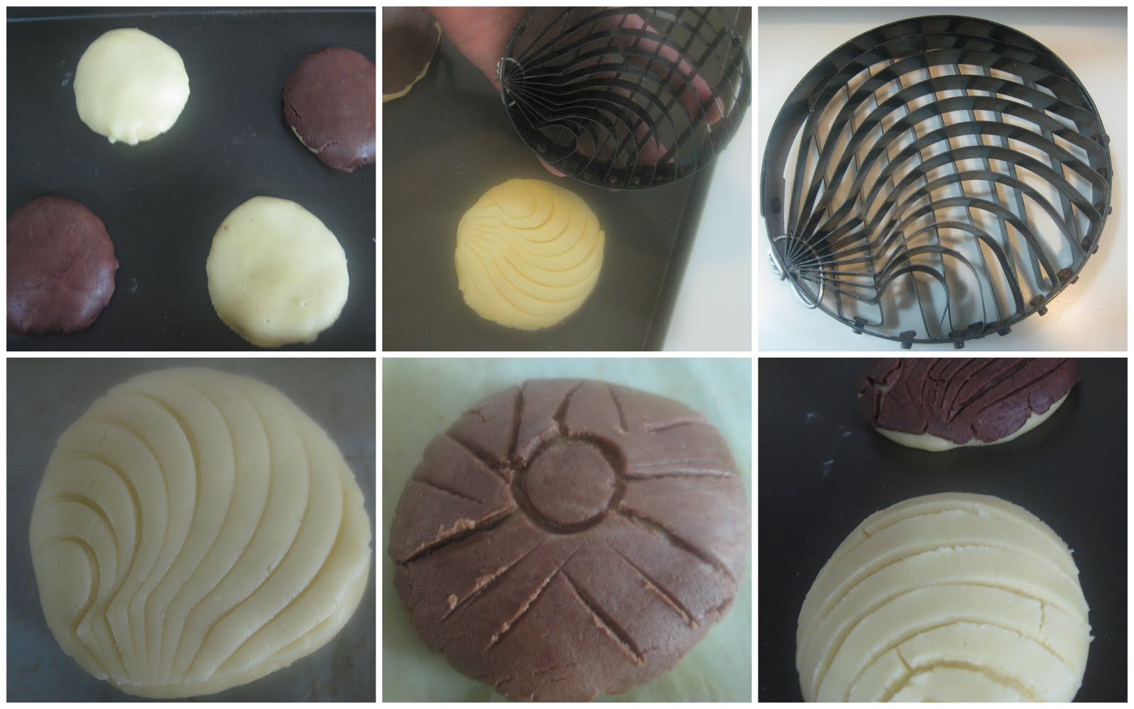 Pan dulce conchas d taringa for Como cocinar conchas finas