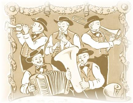 La musique folklorique alsacienne
