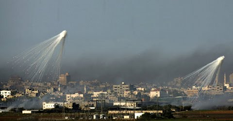fosforo bianco Gaza