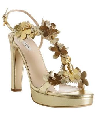 platform sandals by Prada